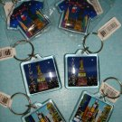 "$24  Free ship New York Souvenirs - Set of 6 Brand new key chain 1.5""X1.5"""