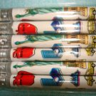 "New York Souvenirs - Set of 6 Brand new pencil 1.5""X1.5"""