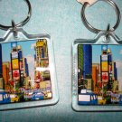"$9.99 New York Souvenirs - Set of 2 Brand new key chain 1.5""X1.5"""
