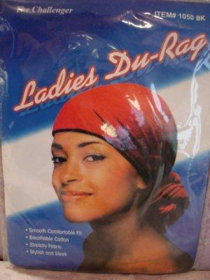 $5.99 New- 1 Ladies Du-Rag-black color