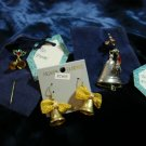 $9.99 for  2 Christmass  Bell Brooches & a pair of  Bell Ear rings