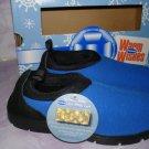 $12.99_Dr Scholls Shoes, Toasty Moc Gel Blue NIB Kids Boy or Girl size 2