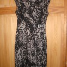 NWOT- Calvin Klein knitted fabric,WOMEN  Sleeveless DRESS,BLACK & WHITE 2P or 4P
