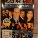 Law & Order Special Victims Unit Third Year 2001-2002 Season- Brand New & Sealed