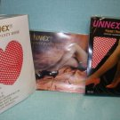 New&sealed-1pair Queen size-Red/White Fishnet Pantyhose-XXL