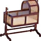 Dollhouse CHARLESTON CRADLE Miniature Nursery Furniture 1:12 Scale