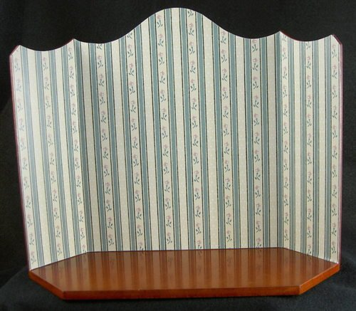 Reutter Porcelain Empty Green Room Box Vignette Ready To