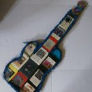 Funky 8 Track Tape Guitar Outsider Folk Art