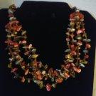 Tumbled Stones Choker Necklace