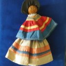 Vintage 1940's Seminole Indian Doll No Patchwork