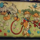 Vintage 1970's Disney Donald Duck Huey Dewy And Lewie Nephews Floor Rug