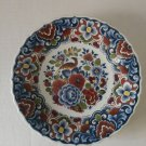 Vintage Holland Bird Delft Red,Blue and Yellow Decorative Wall Plate
