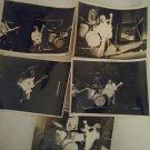 Vintage Original 1970's Lot of 9 Jeff Beck B & W Concert Photos 5x7