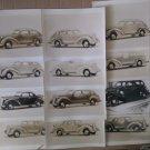1940's Automobile Photo Lot 12 B&W Photos 8 x 10 Mostly Dodge Cars a