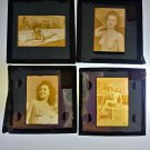 Vintage Erotic Risque 1950's 60's Nude Woman 35mm Slide Lot 4 Slides d