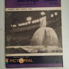 Dec.10,1967 San Diego vs Miami Dolphins AFC Football Program