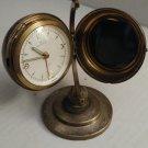 U. S. Zone Germany Rensie World Globe Alarm Clock Works 7 jewels