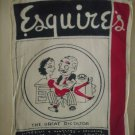 Vintage 1940's Esquire's The Great Dictator Hanky Hankie
