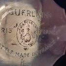 "Vintage 1940's Guerlain Shalimar Baccarat Perfume Bottle Empty 5 3/4"" High"
