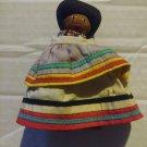 Vintage 1940's Seminole Indian Doll Palm Fiber