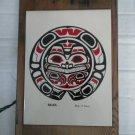 Alaskan Steven C. Evans Bear Tile Salmon Box Top