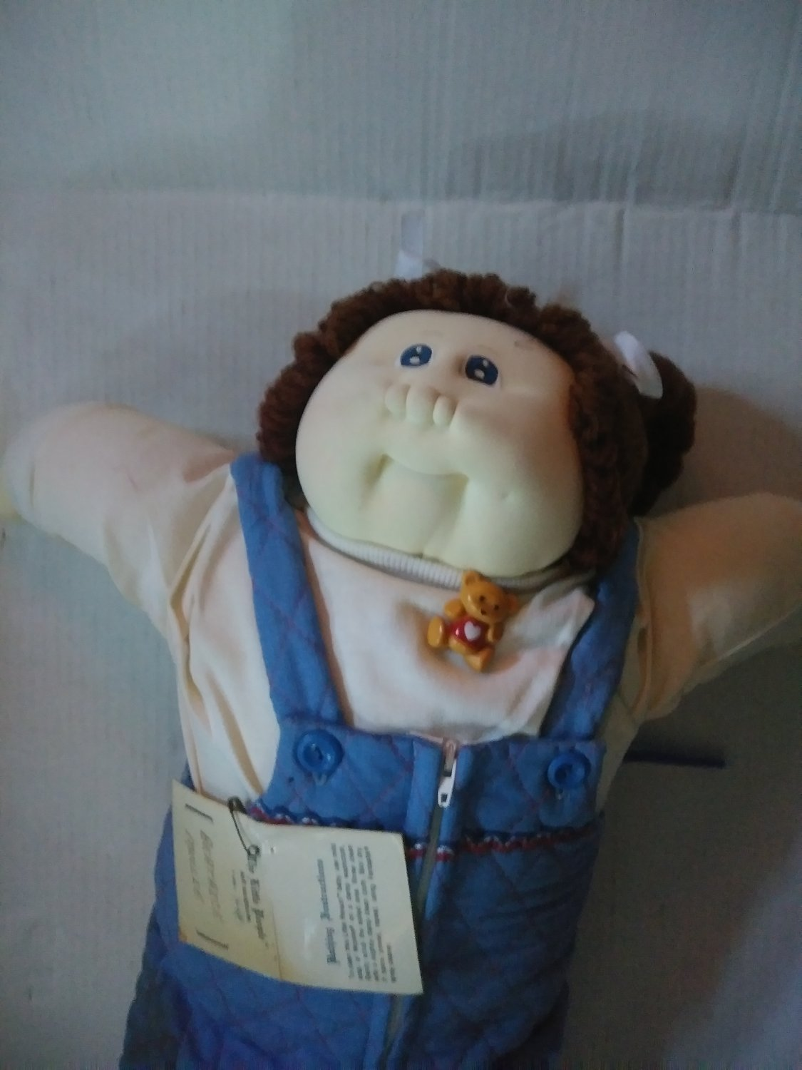 little People Cabbage Patch Soft Sculpture Doll Beatrice Mollie