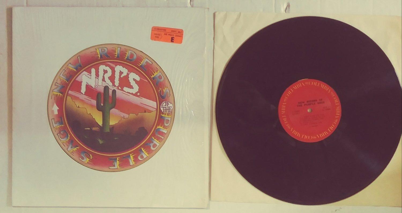 New Riders Of The Purple Sage Album LP Garcia
