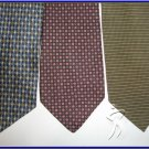 NEW DESIGNER COLLECTION SMALL PATTERN SILK NECK TIES