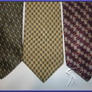 NEW RUFFINI KETCH etc SMALL PATTERN EXECUTIVE SILK TIES
