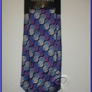 NEW STEVE HARVEY SILK TIE WITH HANKY POLKA DOTS CIRCLES