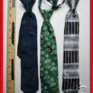 YOUNG BOYS KIDS CHILDREN CLIP ON CLIPON CLIP-ON TIES