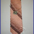 NEW STACY ADAMS SILK TIE STRIPES POLKA DOTS DESIGNER