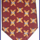 NEW EXECUTIVE DESIGNER STYLE SILK TIE SMALL PATTERN