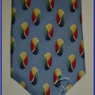 NEW EXECUTIVE DESIGNER STYLE SILK TIE CIRCLES ROUNDS NR