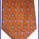 NEW EXECUTIVE DESIGNER STYLE SILK TIE WIRED HANDSOME NR