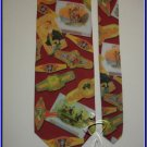 NEW RM CUBAN CIGAR LABELS AND BRANDS TIE NOVELTY RARE