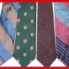 MENS CD CHRISTIAN DIOR etc STRIPES EXECUTIVE SILK TIES