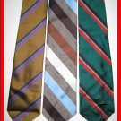 MENS DESIGNER COLLECTION STRIPES STRIPED NECK TIES TIES