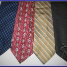 MEN DESIGNER COLLECTION SMALL PATTERN STRIPES SILK TIEs