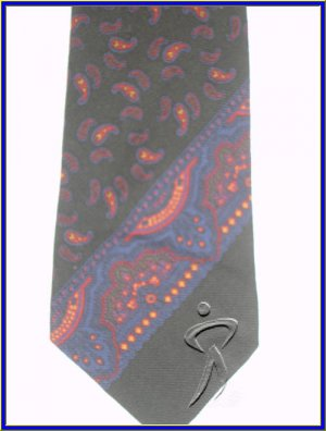 MENS NEW POLO RALPH LAUREN WOOL WOOLEN TIE PAISLEY