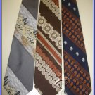 MENS RARE VINTAGE WIDE FATTY RETRO TIES 1960 1970 WEMBL