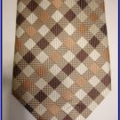 NEW BERGAMO HANKY CUFFLINK TIE SET PLAID CHECKERS DESIG
