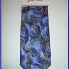 NEW J. JERRY GARCIA SILK TIE FISH BLUE ART DECO