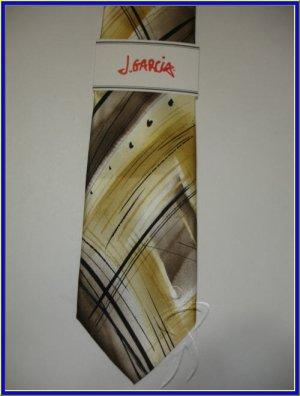 NEW J. JERRY GARCIA SILK TIE TROLL 53 COLLECTION ART DE