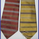 NEW JOS A BANK SIGNATURE COLLECTION STRIPES SILK TIES