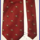 NEW JOS BANK POLO SPORTS EQUESTRIAN HORSE RIDE SILK TIE