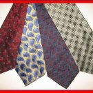 MENS DESIGNER COLLECTION ART DECO SILK NECKTIES TIES