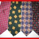 MENS EXECUTIVE DESIGNER COLLECTION SILK NECK TIES wear