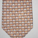 MENS BACON & CO T ALPHABET LOGO SILK NECK TIE DESIGNER