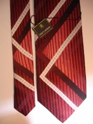 MENS NEW STACY ADAMS SILK TIE STRIPES STRIPED NECKTIE